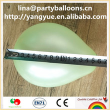 CE 2015 Promotional thicken7 inch pearlized Balloon