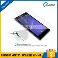 For sony xperia z2 z3 glass screen protector anti scratch 9H