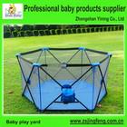 Crianças painel quintal 6 lados com colchão do bebê dobrável cercadinho grande cercadinho para bebês