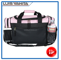 Hot Sale Athletic 600D Polyester Sports Duffel Travel Bag
