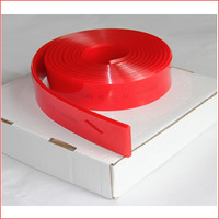 High wear resistant red sharp edge rubber for screen printing