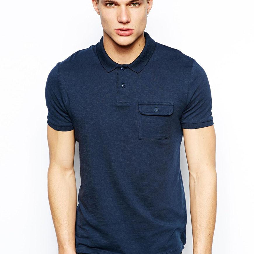 Pocket polo shirt design jersey fabric bulk pima cotton for Bulk pocket t shirts