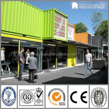 Two Storey Easy Installation PU Panel Ready Made Container House