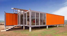 2015 hot sale luxury prefab steel villa prefab shipping container homes for sale 40ft container home