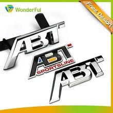 2014wholesale promotion gift cheap custom metal 3d car emblem
