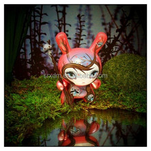 "cute 3""dunny 64 colors girl spirit vinyl figure,do-it yourself movable vinyl figure,vinyl figure manufacturer"