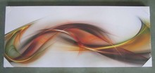 Party decoration hot products 2015 arts & crafts colorful lines abstract painting canvas art
