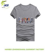 leisure sports t-shirt with Digital print&Top quality High quality mens cotton t-shirts fashion 100% cotton rock t-shirts short