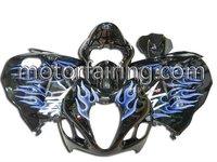 SUZUKI gsxr1300 97-07 fairing kit/motorcycle fairing/body kits/body work blue/black