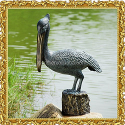 Cheap Life Size Pelican Statues for Garden Decoration
