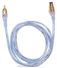 RCA male to S Video Cable (Mini Din 4Pin)