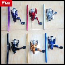 New style pen fishing rod set fishing pen rod set fishing rods and reel