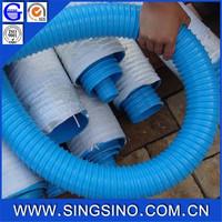 colored plastic pvc flexible corrugated pvc suction hose