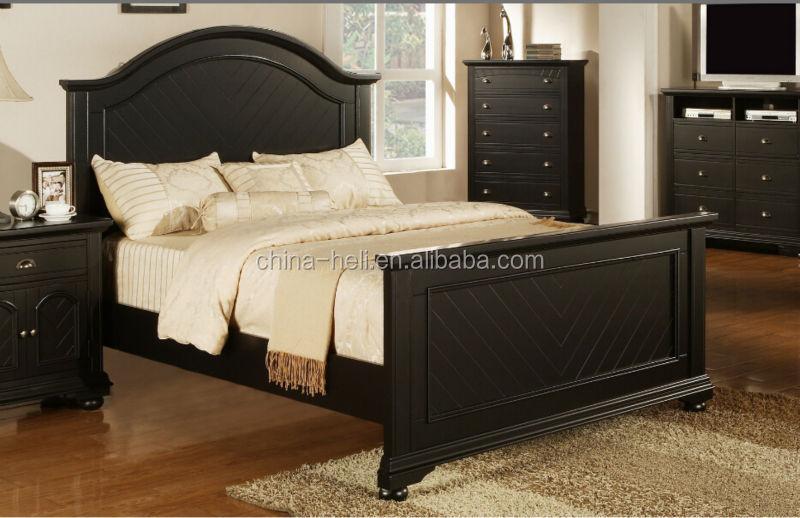 Moderna madeira maci a cama de solteiro para casa camas de for Camas king size modernas