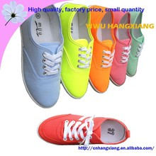 Small MOQ Women Espadrilles Canvas Fabric Casual Shoes For Lady