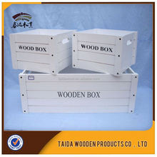 China Supplier Rustic Pine Cheap Wood Crates