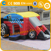 Commercial inflatable bouncy castle , inflatable toy car , inflatable bouncers rental , inflatable toy car slide