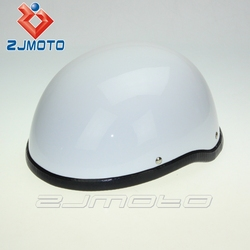 HT-5009-WT ABS Flat waterproof Shockproof high protective Adult Medium Size motorbike Half Helmet,unique motorcycle helmets
