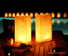 Safe Paper Lantern Candle Bag For Wedding Party Decoration Tea Light Candle Bag
