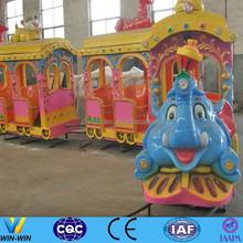 children train amusement track train for sale