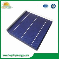 """17.8%-18.2% efficiency 4.33w-4.43w 6"""" inch 3BB A grade wholesale prices poly Solar Cell made in Taiwan"""