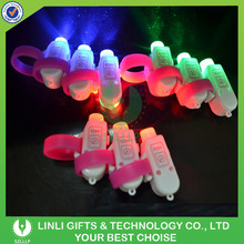 Party Favor Colorful LED Flashing Ring Light Toy, Printed Glow Ring Light, Glow Ring Light Supplier