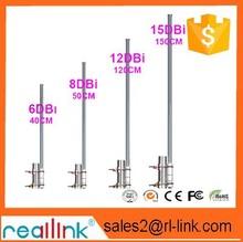 6 dbi FRP antenna engineering covers 2.4 G/relay dedicated FRP omnidirectional antennas