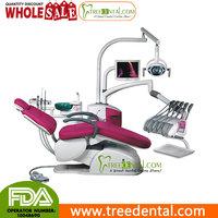 TR-A6600 Computer Control Unique Electric Dental Chair/Unit(leather cushion) dental unit