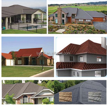 color coated steel roof tile/ridge roofing sheet