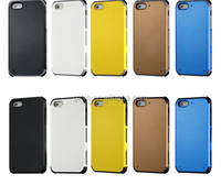 2015 Newest Colorful Tough Slim Armor combo Case Strong Shockproof for IPhone5/5S Case Cover back case
