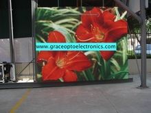 Best price high brightness large advertising outdoor led screen display price for fixed installation