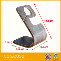 2015 new design products for Apple watch stand wood, compatible for Apple watch