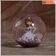 OEM made princess girl glittery rubber bouncy ball toys,custom glittery bouncy ball toys,custom OEM toys ball manufacturer