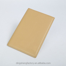 New model slim leather passport cover wholesale travel document holder wallet different colors available