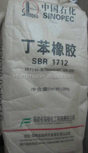 Synthetic Styrene Butadiene Rubber SBR1712