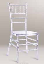 Factory clear Resin hotel Chiavari Chair