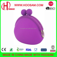 Silicone Coin Purse, Made of Elegant Design, Customized Designs and Colors Welcomed