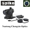 Tactical aimpoint red dot sight scope with 22mm QD mount for hunting rifle scope