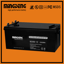 Pakistan market 24v deep cycle battery 12v 200ah agm battery