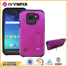 Cell phone case with holder for samsung s6 active G890