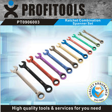 12pcs CRV colour coded hand tire changer tool