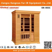 the highest quality portable infrared josen sauna for 3 persons KN-003C