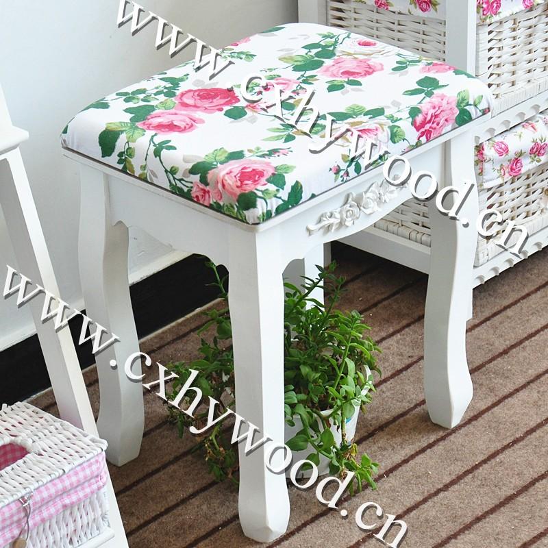 나무 화이트 그린 현대 드레싱 테이블 의자-기타 엔틱 가구 -상품 ...