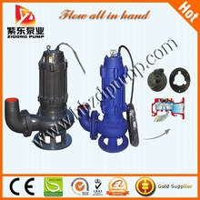 QW float switch submersible sewage water pump