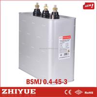 CQC listed 0.4Kv 45Kvar Static Var Compensator svc ac power capacitor