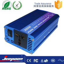 China suppliers lower price USB tronic power inverte 12 volt 220 volt 300 watt solar power inverte for electric motor car