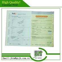 Manufacturer in Guangzhou customized high quality cheap air waybills with barcode