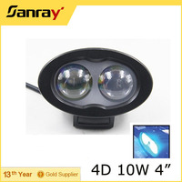 4D Optic Blue Light Forklift Safety Light 10w LED Work Light for Forklift