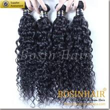 2015 unprocessed loose hair weaving100% virgin indian hair