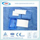 Kits descartáveis cortina olho cirúrgicos de boa qualidade, médico pacote cortina oftálmica, embalagem descartável não tecido dr
